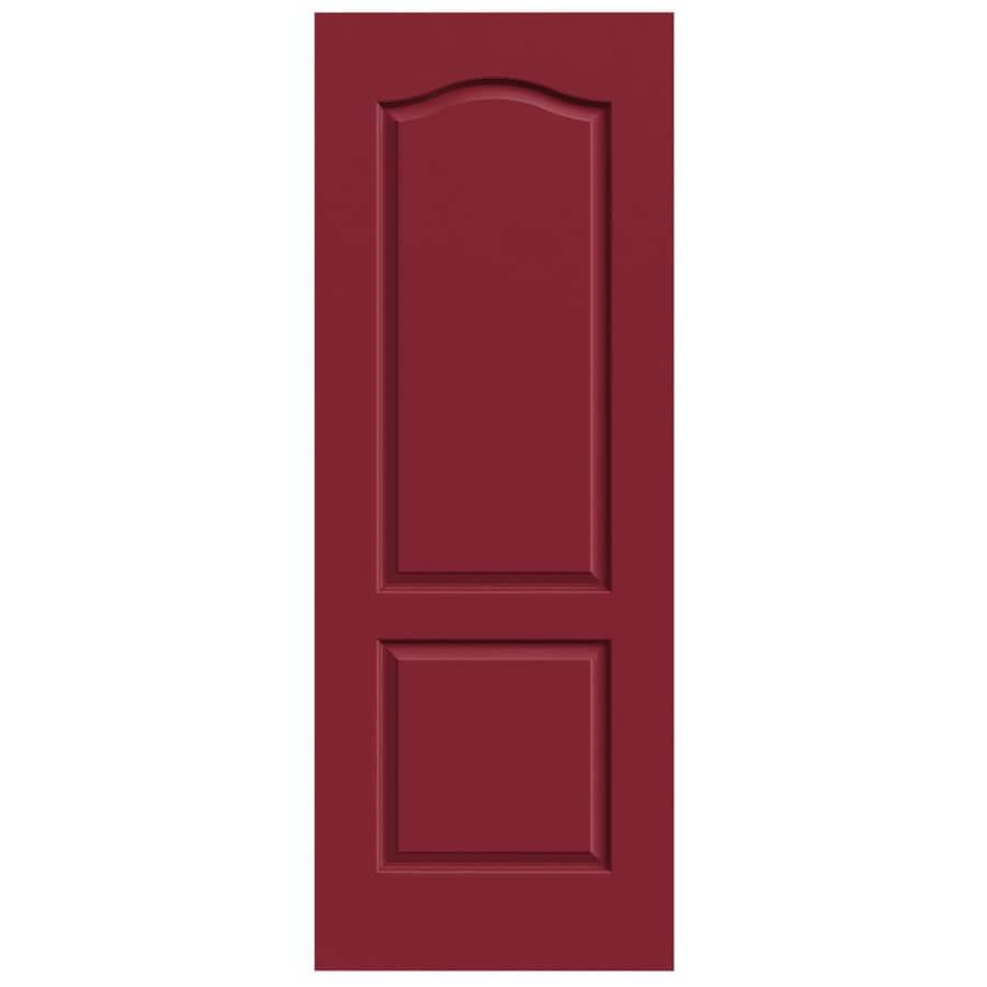 JELD-WEN Princeton Barn Red Slab Interior Door (Common: 32-in x 80-in; Actual: 32-in x 80-in)