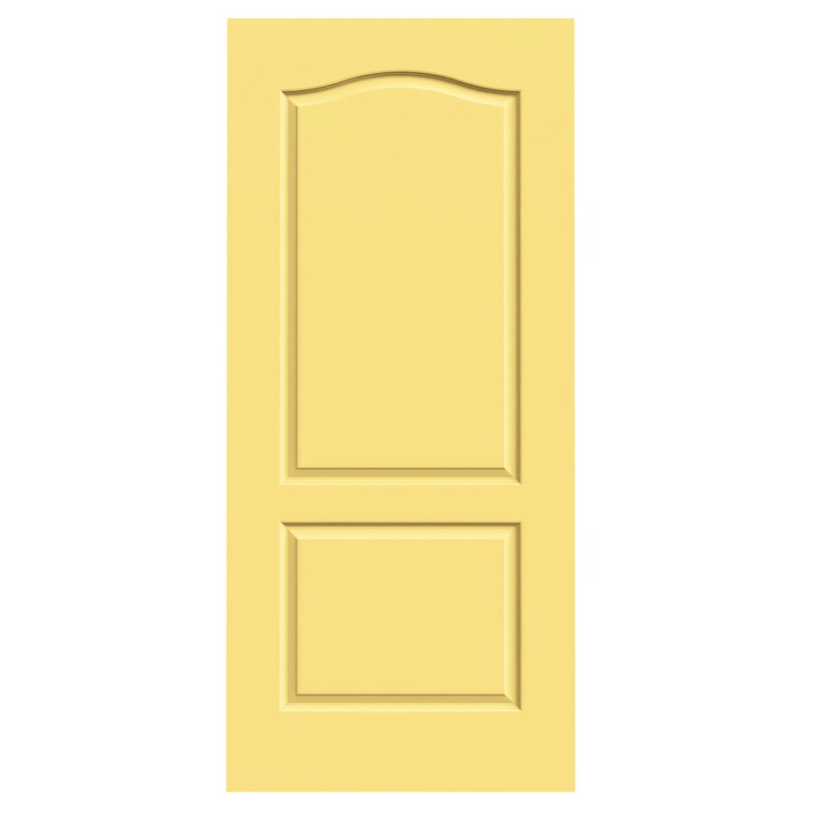 JELD-WEN Marigold Hollow Core 2-Panel Arch Top Slab Interior Door (Common: 36-in x 80-in; Actual: 36-in x 80-in)