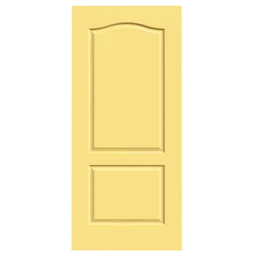 JELD-WEN Princeton Marigold Hollow Core Molded Composite Slab Interior Door (Common: 36-in x 80-in; Actual: 36-in x 80-in)