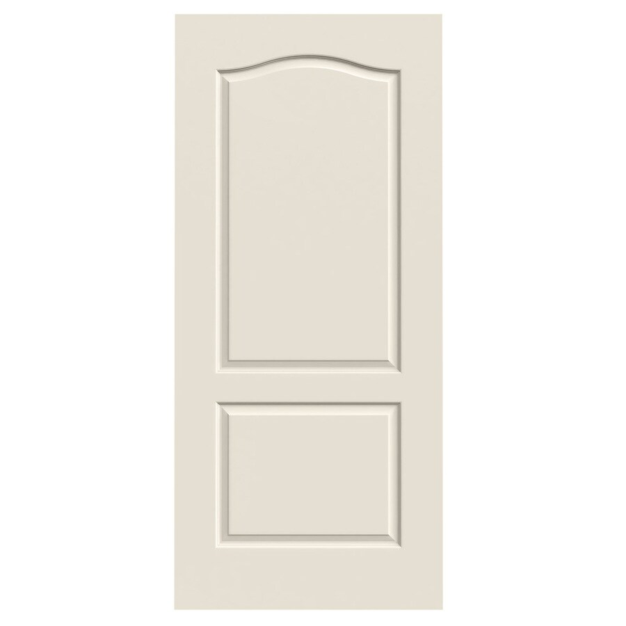 JELD-WEN Princeton Primed Hollow Core Molded Composite Slab Interior Door (Common: 36-in x 80-in; Actual: 36-in x 80-in)