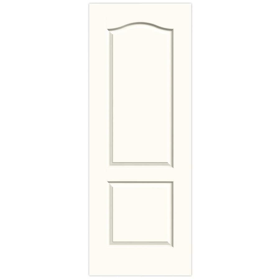 JELD-WEN Princeton White Slab Interior Door (Common: 30-in x 80-in; Actual: 30-in x 80-in)