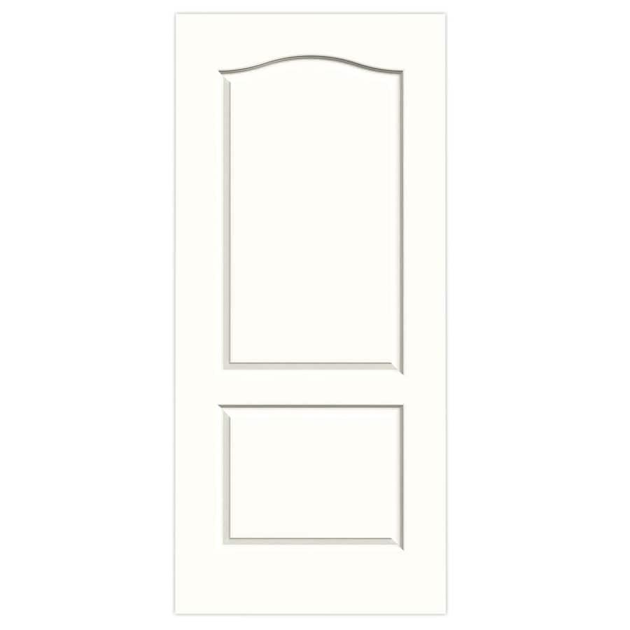 JELD-WEN Princeton Snow Storm Solid Core Molded Composite Slab Interior Door (Common: 36-in x 80-in; Actual: 36-in x 80-in)