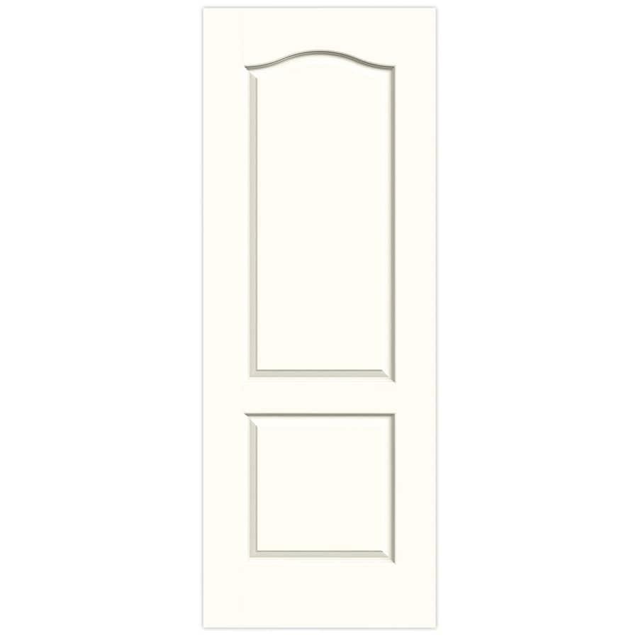 JELD-WEN Princeton Moonglow Slab Interior Door (Common: 28-in x 80-in; Actual: 28-in x 80-in)