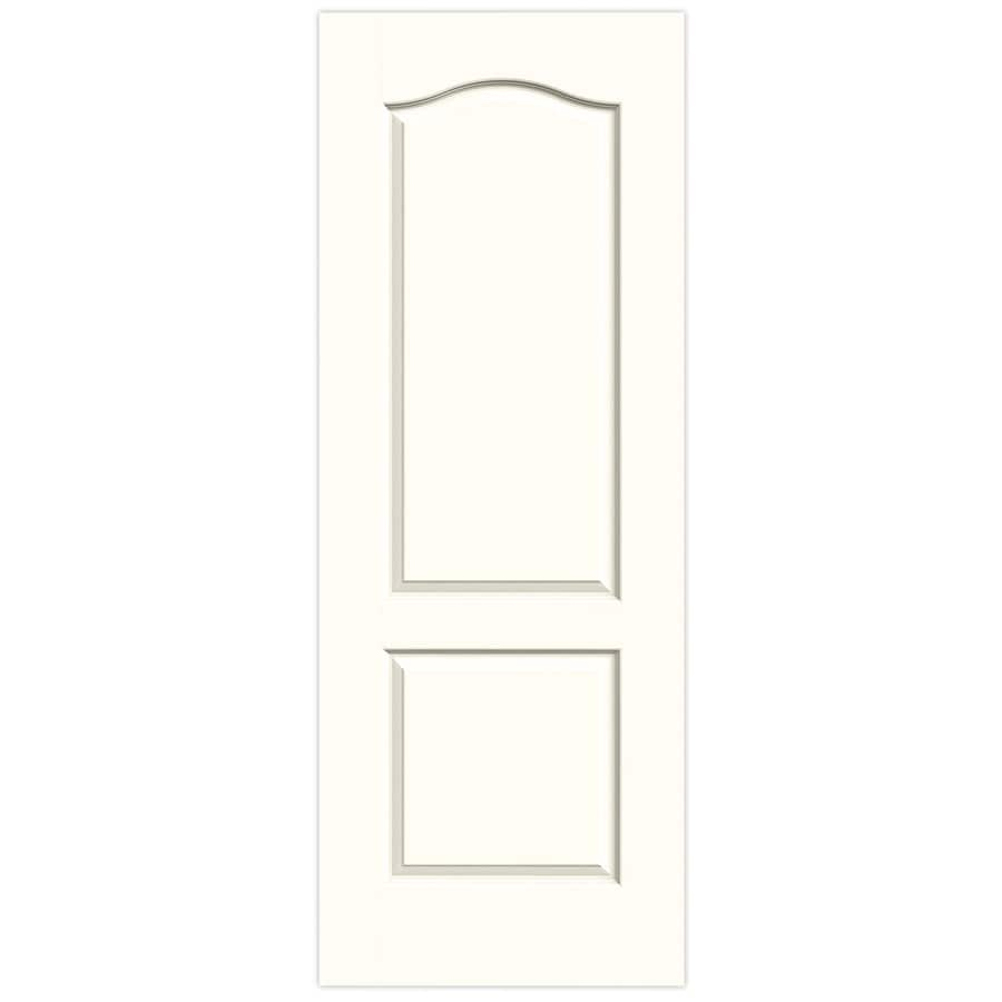 JELD-WEN Moonglow 2-panel Arch Top Slab Interior Door (Common: 32-in x 80-in; Actual: 32-in x 80-in)