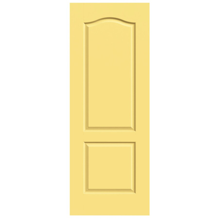 JELD-WEN Princeton Marigold Solid Core Molded Composite Slab Interior Door (Common: 28-in x 80-in; Actual: 28-in x 80-in)