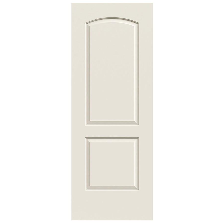 JELD-WEN Solid Core 2-Panel Arch Top Slab Interior Door (Common: 28-in x 80-in; Actual: 28-in x 80-in)