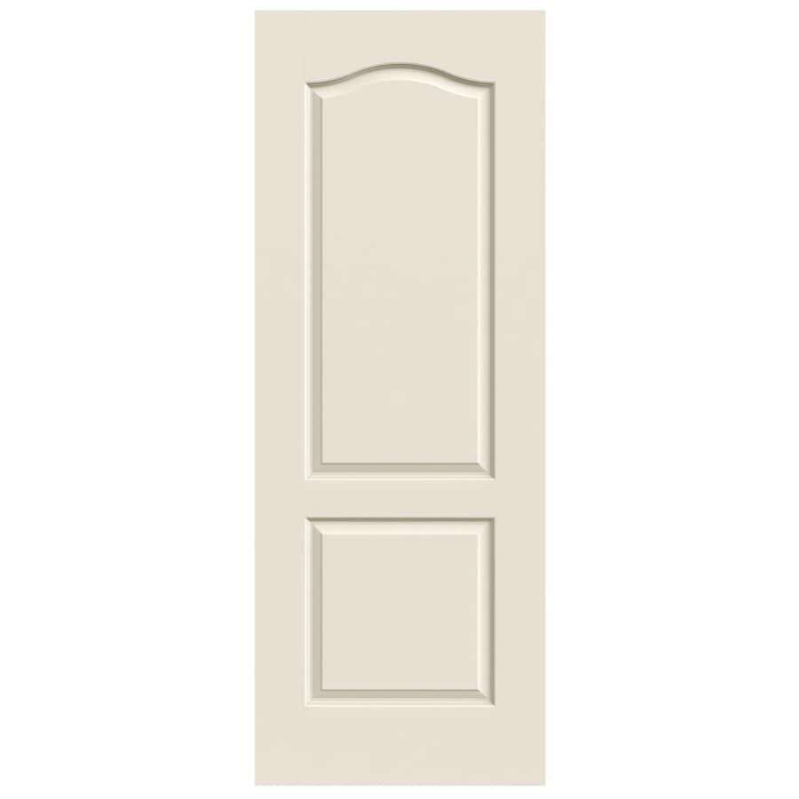 JELD-WEN Princeton 2-panel Arch Top Slab Interior Door (Common: 30-in x 80-in; Actual: 30-in x 80-in)