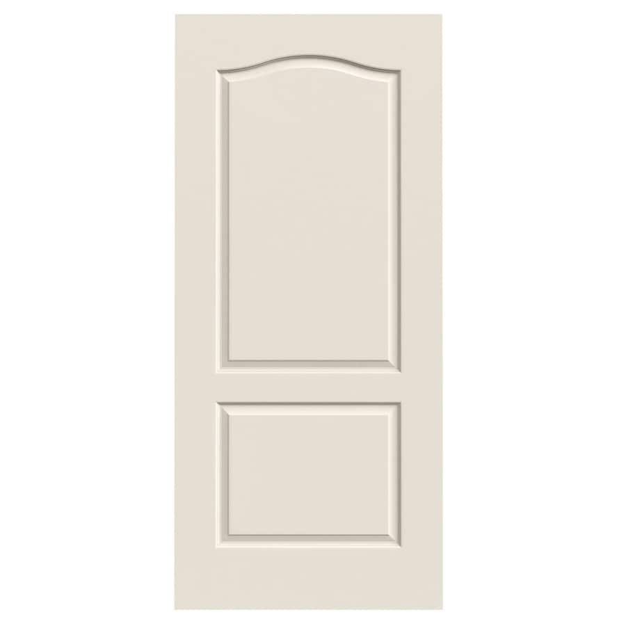 JELD-WEN Princeton Primed Solid Core Molded Composite Slab Interior Door (Common: 36-in x 80-in; Actual: 36-in x 80-in)
