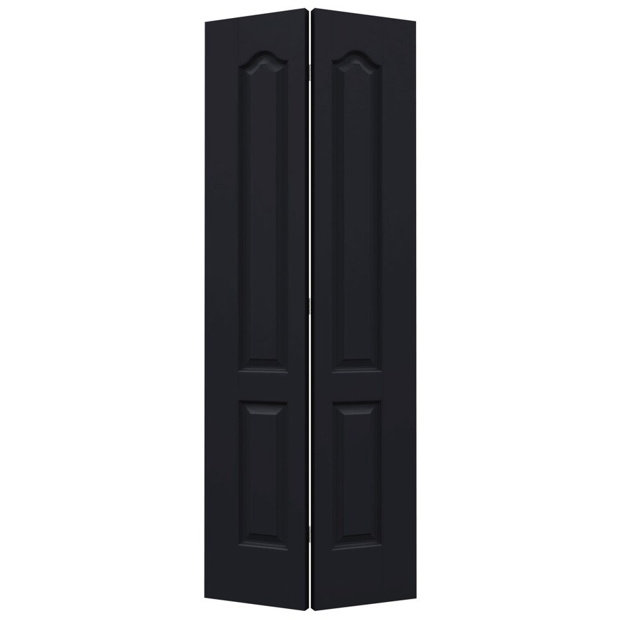 JELD-WEN Princeton Midnight Bi-Fold Closet Interior Door (Common: 32-in x 80-in; Actual: 31.5000-in x 79-in)