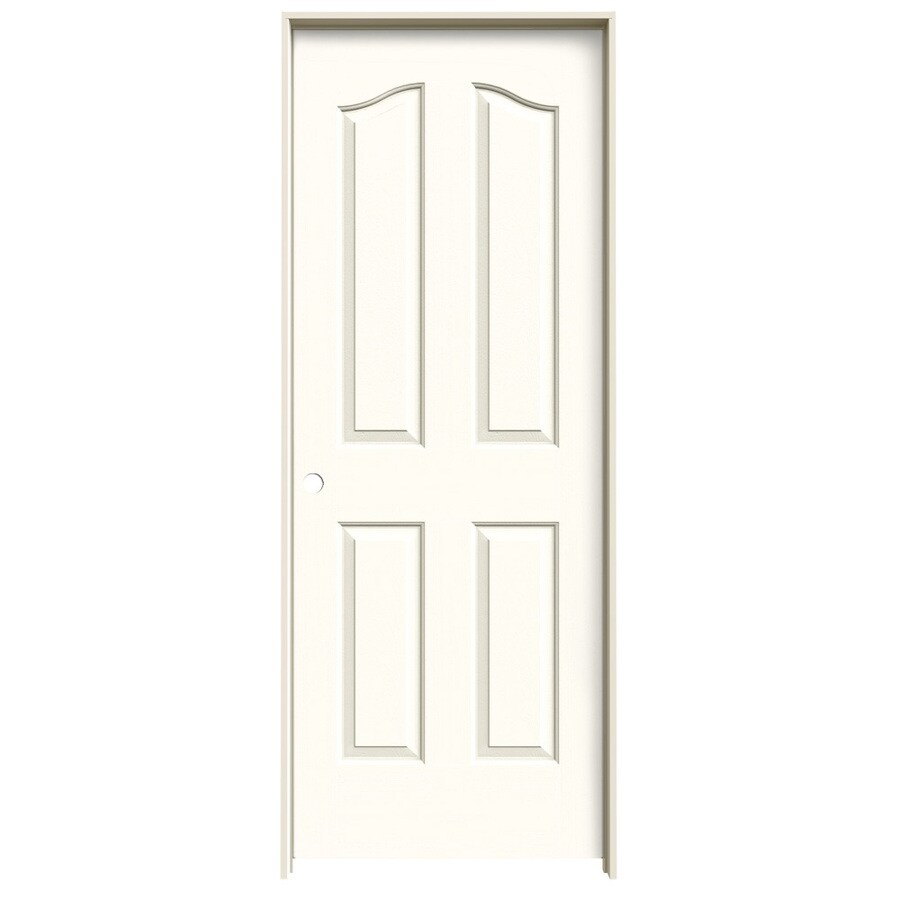 JELD-WEN Provincial Moonglow Hollow Core Molded Composite Single Prehung Interior Door (Common: 32-in x 80-in; Actual: 33.5620-in x 81.6900-in)