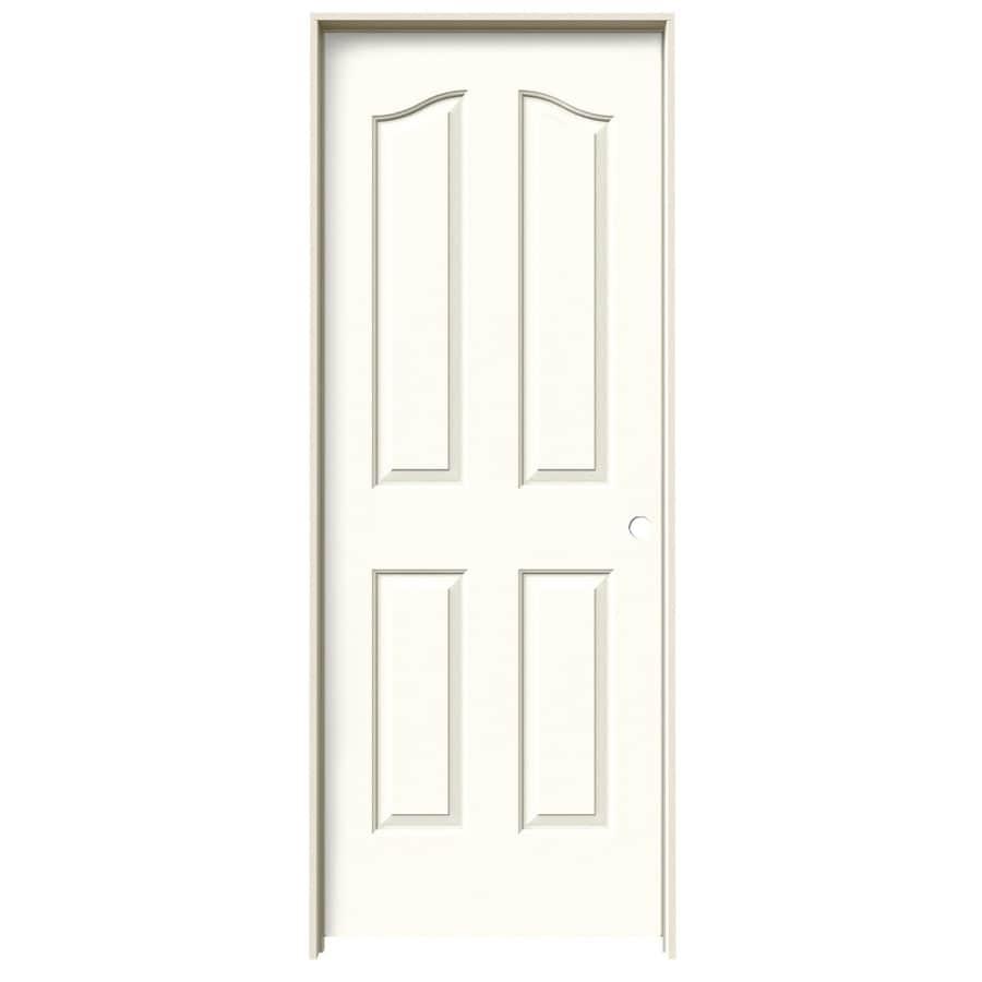 JELD-WEN Provincial Moonglow Single Prehung Interior Door (Common: 32-in x 80-in; Actual: 33.562-in x 81.69-in)