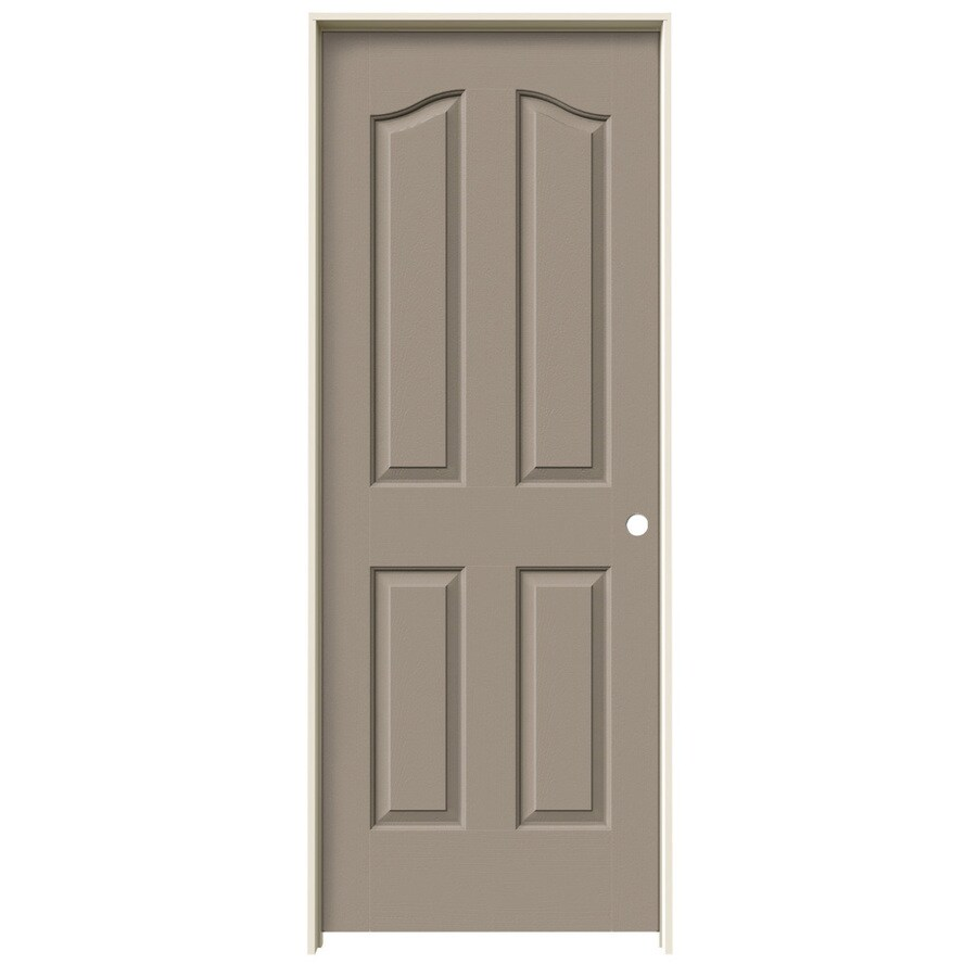 JELD-WEN Provincial Sand Piper Hollow Core Molded Composite Single Prehung Interior Door (Common: 32-in x 80-in; Actual: 33.5620-in x 81.6900-in)