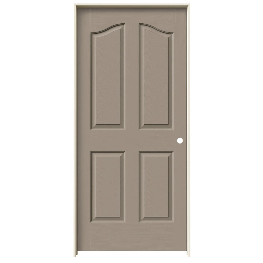 JELD-WEN Provincial Sand Piper Hollow Core Molded Composite Single Prehung Interior Door (Common: 36-in x 80-in; Actual: 37.5620-in x 81.6900-in)