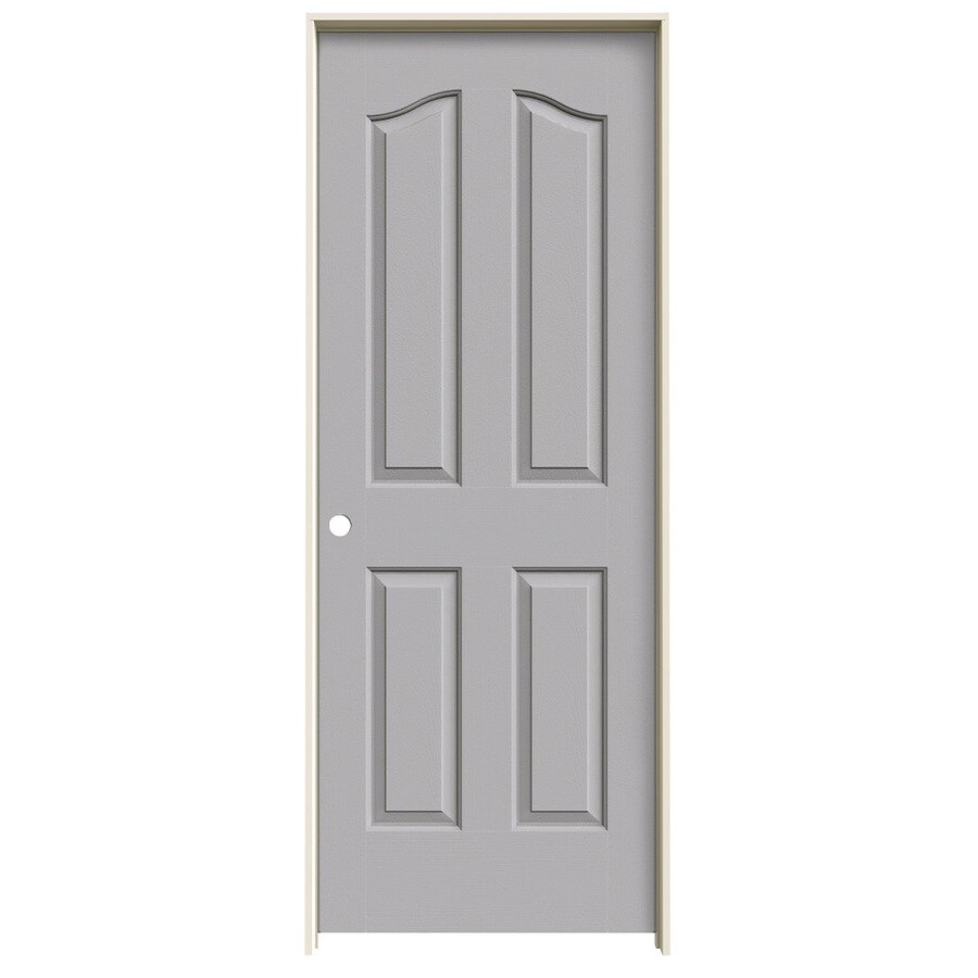 JELD-WEN Provincial Drift Hollow Core Molded Composite Single Prehung Interior Door (Common: 32-in x 80-in; Actual: 33.562-in x 81.69-in)