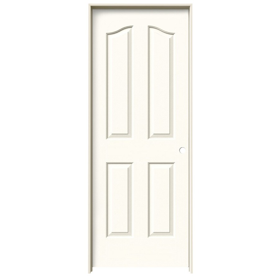 JELD-WEN Provincial White Single Prehung Interior Door (Common: 28-in x 80-in; Actual: 29.562-in x 81.69-in)