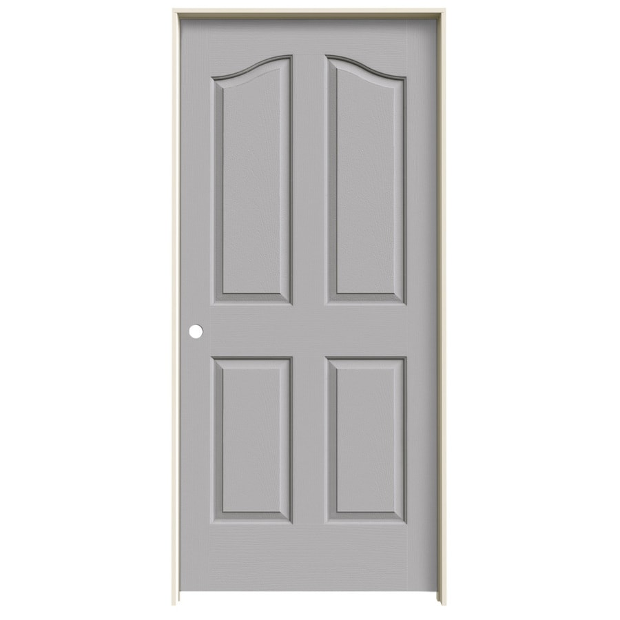 JELD-WEN Provincial Drift Solid Core Molded Composite Single Prehung Interior Door (Common: 36-in x 80-in; Actual: 37.5620-in x 81.6900-in)