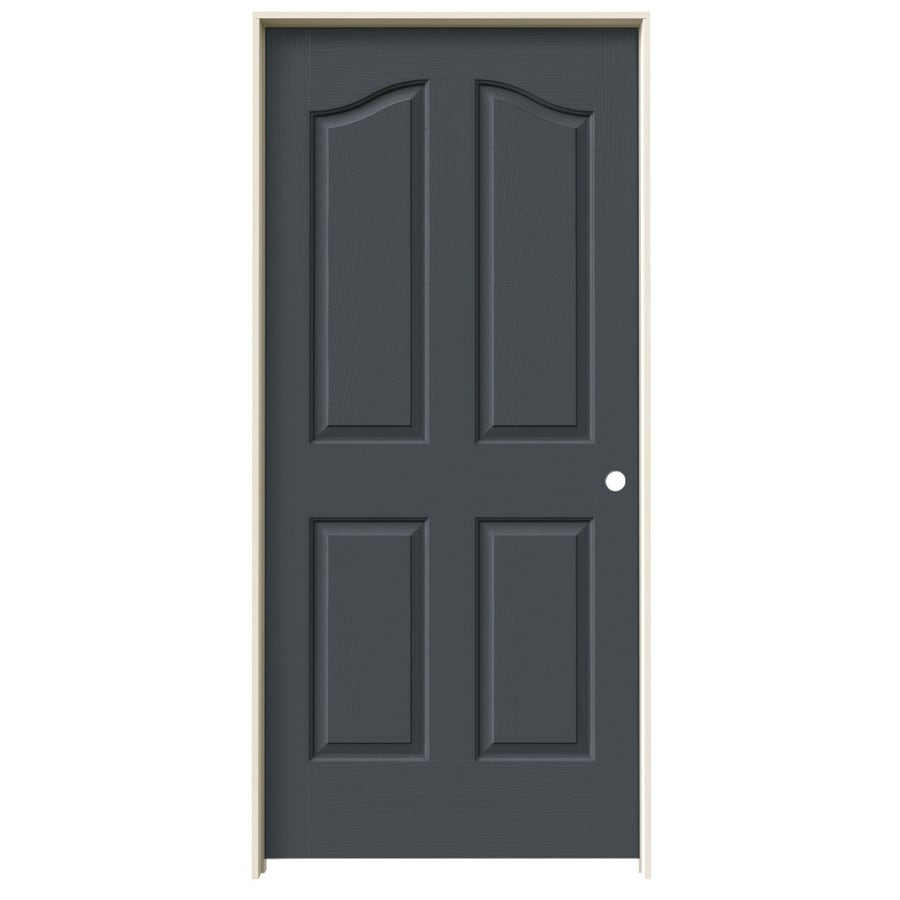 JELD-WEN Provincial Slate Single Prehung Interior Door (Common: 36-in x 80-in; Actual: 37.562-in x 81.69-in)