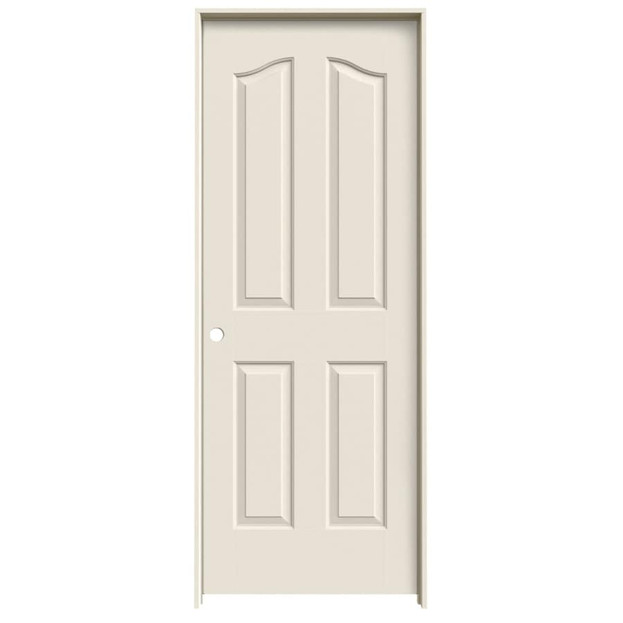 JELD-WEN Prehung Solid Core 4-Panel Arch Top Interior Door (Common: 24-in x 80-in; Actual: 25.562-in x 81.69-in)