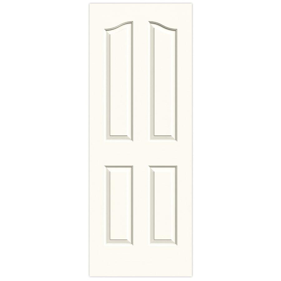 JELD-WEN Provincial White Solid Core Molded Composite Slab Interior Door (Common: 28-in x 80-in; Actual: 28-in x 80-in)
