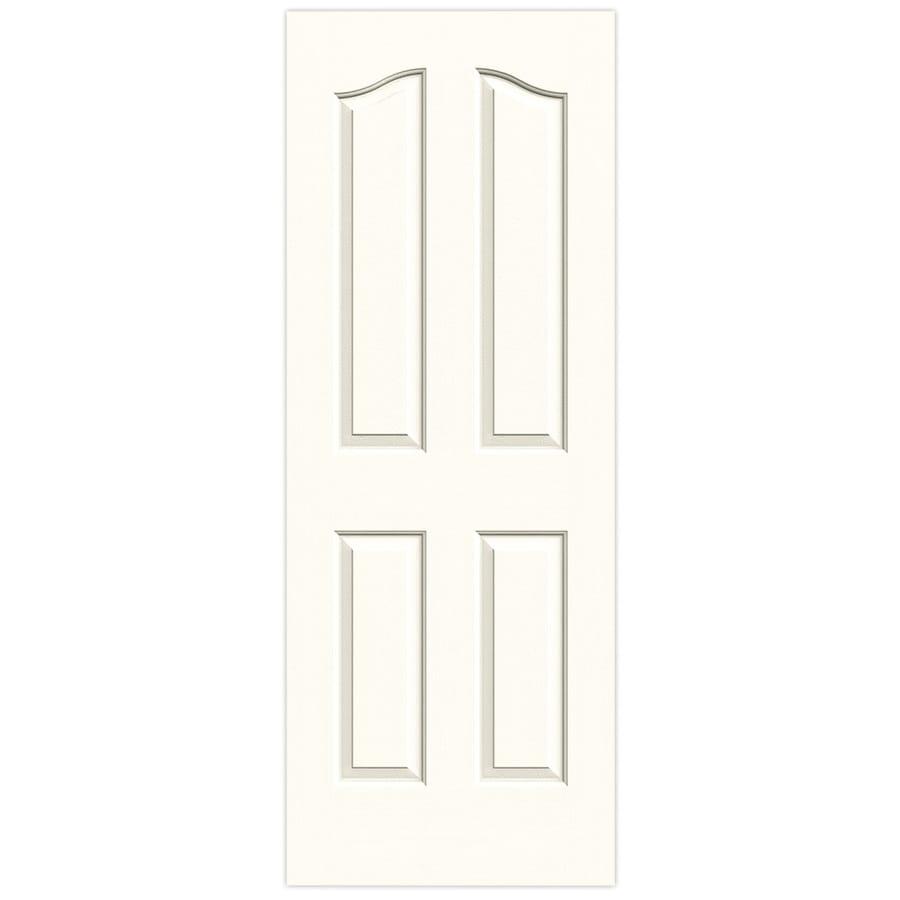 JELD-WEN Provincial Moonglow Solid Core Molded Composite Slab Interior Door (Common: 24-in x 80-in; Actual: 24-in x 80-in)