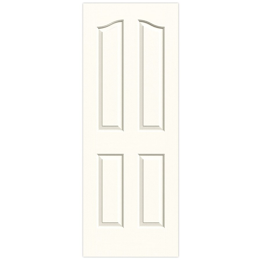JELD-WEN Provincial Moonglow Solid Core Molded Composite Slab Interior Door (Common: 30-in x 80-in; Actual: 30-in x 80-in)