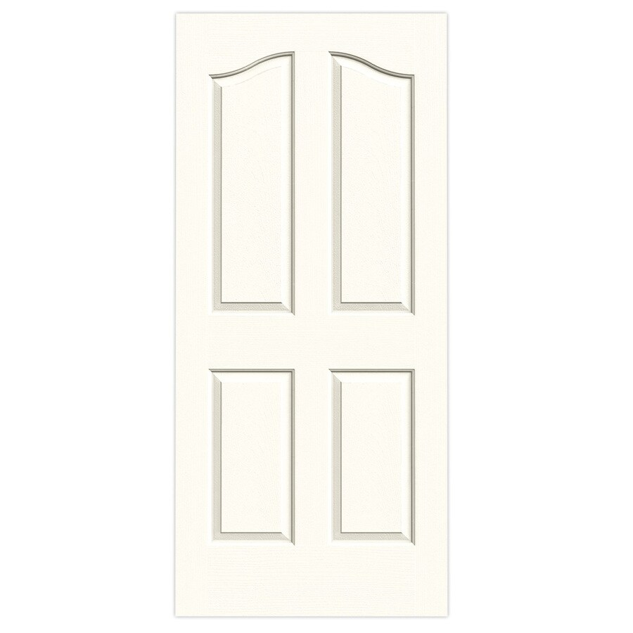 JELD-WEN Provincial Moonglow Solid Core Molded Composite Slab Interior Door (Common: 36-in x 80-in; Actual: 36-in x 80-in)