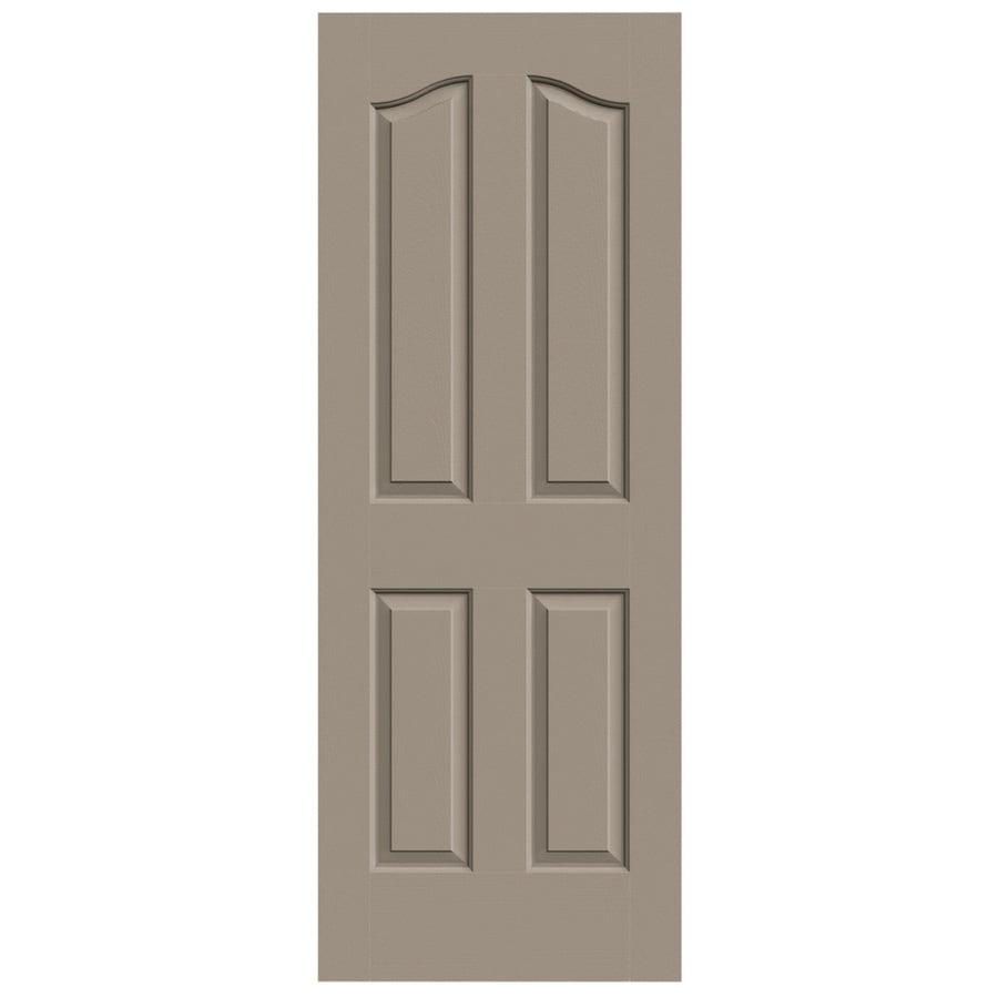 JELD-WEN Provincial Sand Piper Slab Interior Door (Common: 32-in x 80-in; Actual: 32-in x 80-in)