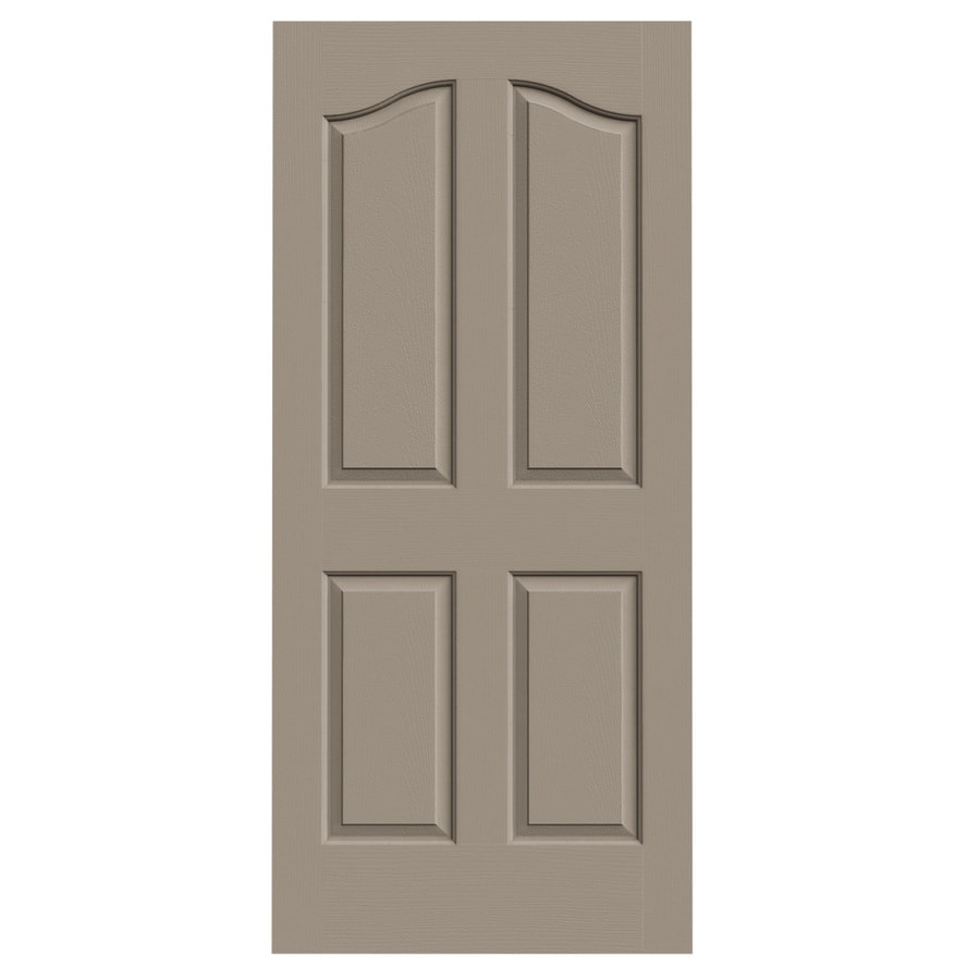 JELD-WEN Provincial Sand Piper Solid Core Molded Composite Slab Interior Door (Common: 36-in x 80-in; Actual: 36-in x 80-in)