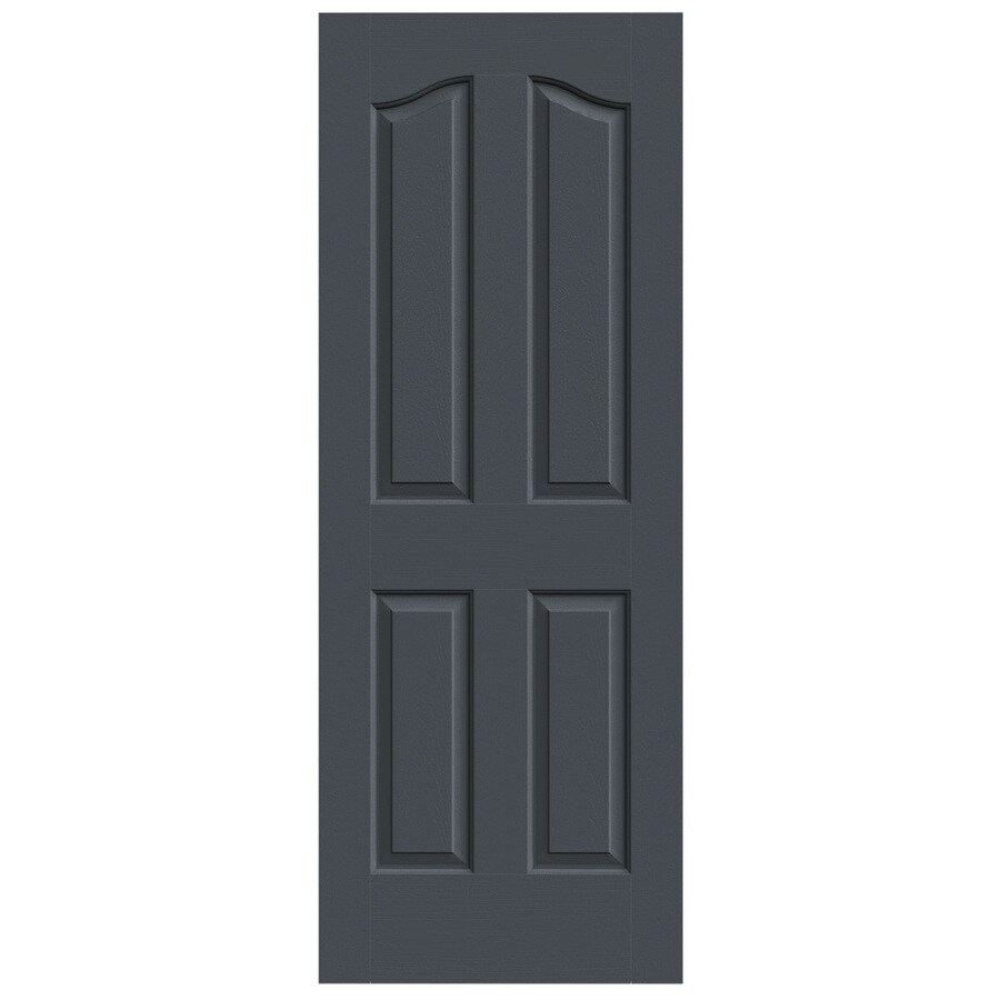 JELD-WEN Provincial Slate Solid Core Molded Composite Slab Interior Door (Common: 28-in x 80-in; Actual: 28-in x 80-in)