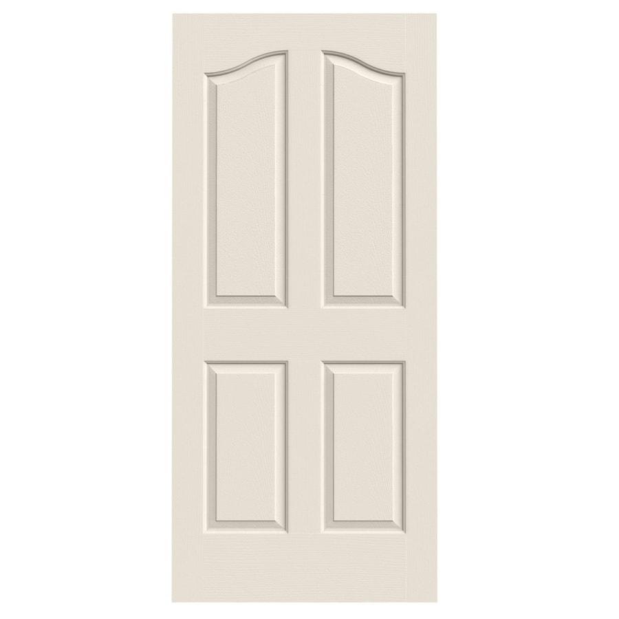 JELD-WEN Coventry 4-panel Arch Top Slab Interior Door (Common: 36-in x 80-in; Actual: 36-in x 80-in)