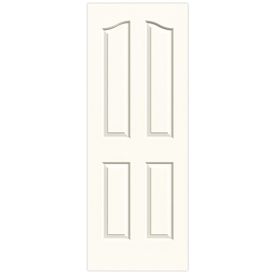 Jeld Wen Provincial White 4 Panel Arch Top Hollow Core