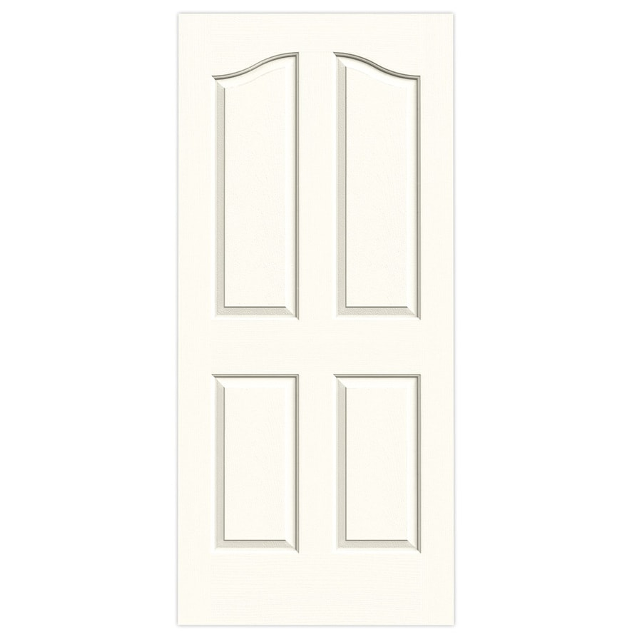 JELD-WEN Provincial Moonglow Hollow Core Molded Composite Slab Interior Door (Common: 36-in x 80-in; Actual: 36-in x 80-in)