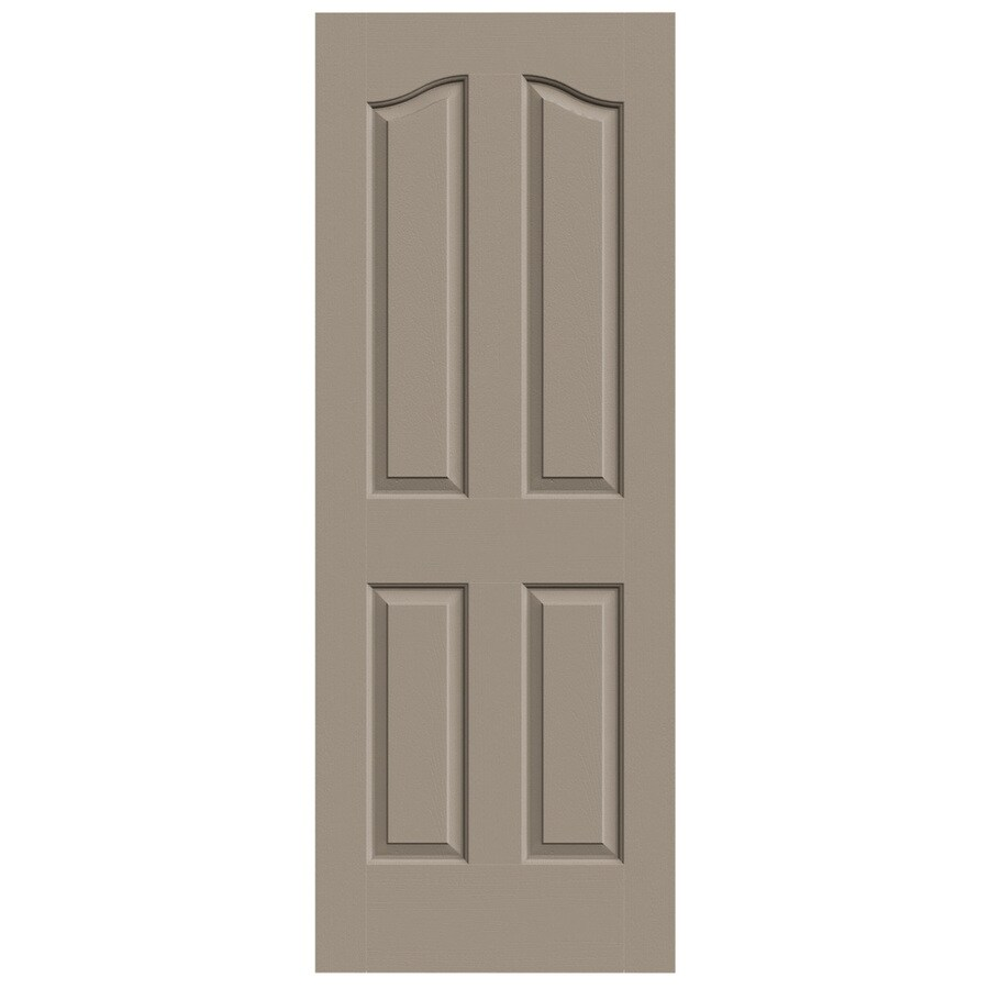 JELD-WEN Provincial Sand Piper Slab Interior Door (Common: 28-in x 80-in; Actual: 28-in x 80-in)