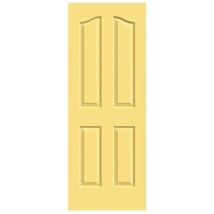 JELD-WEN Provincial Marigold Hollow Core Molded Composite Slab Interior Door (Common: 24-in x 80-in; Actual: 24-in x 80-in)