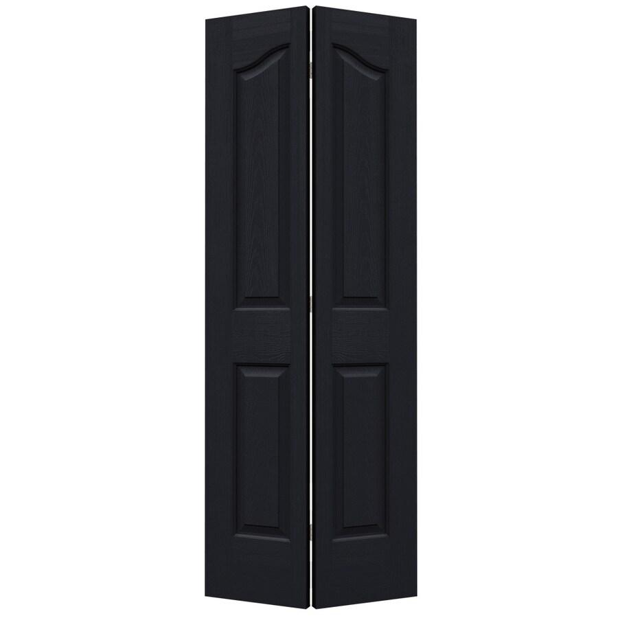 Shop jeld wen provincial midnight bi fold closet interior for 27 inch bifold interior doors
