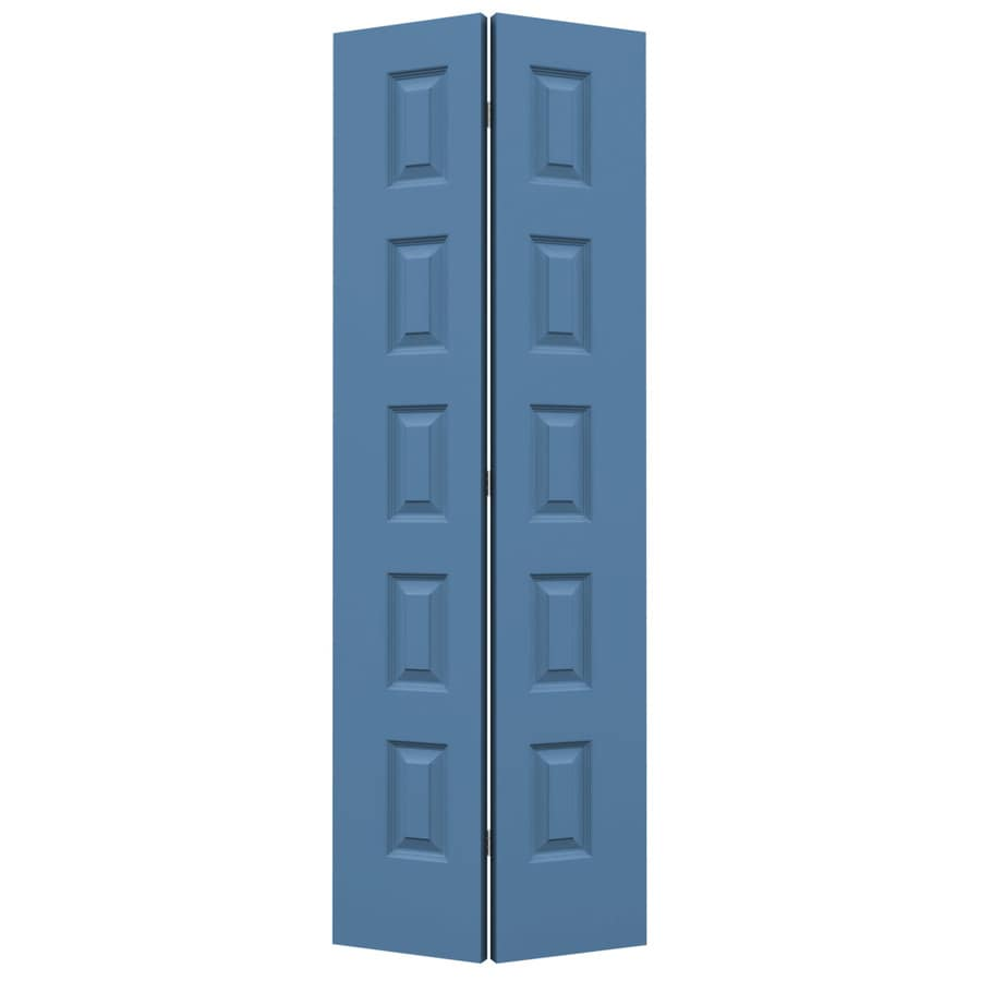 JELD-WEN Blue Heron Hollow Core 5-Panel Equal Bi-Fold Closet Interior Door (Common: 24-in x 80-in; Actual: 23.5-in x 79-in)