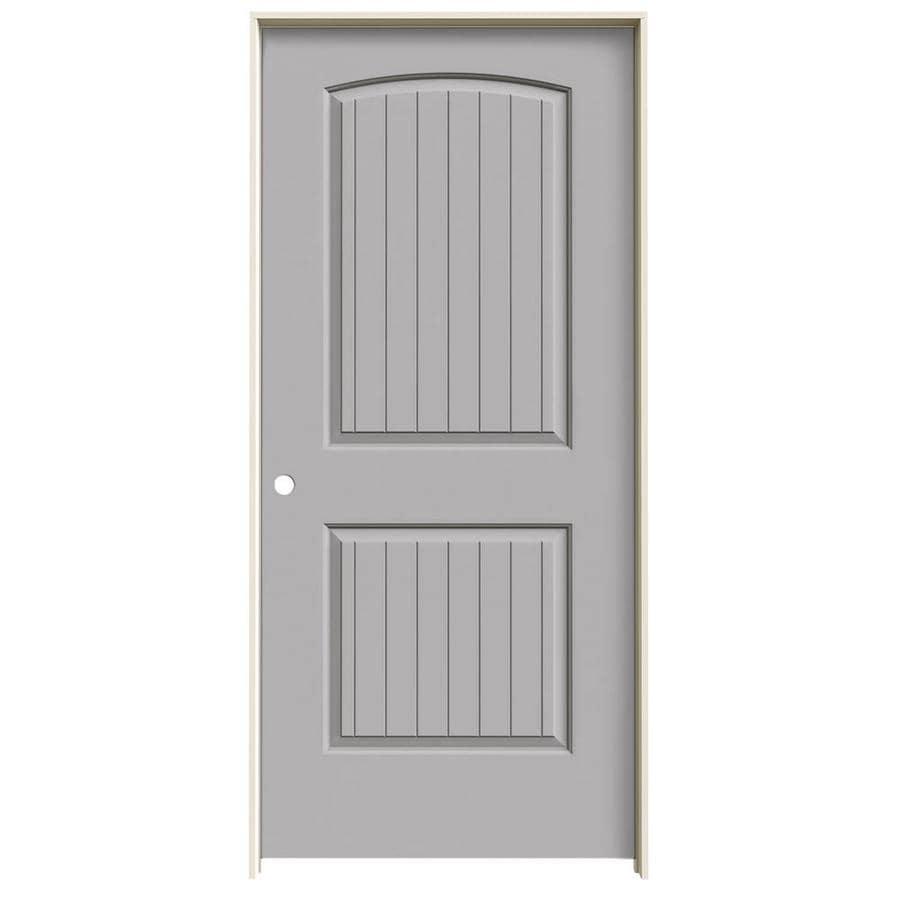 JELD-WEN Santa Fe Drift Solid Core Molded Composite Single Prehung Interior Door (Common: 36-in x 80-in; Actual: 37.5620-in x 81.6880-in)