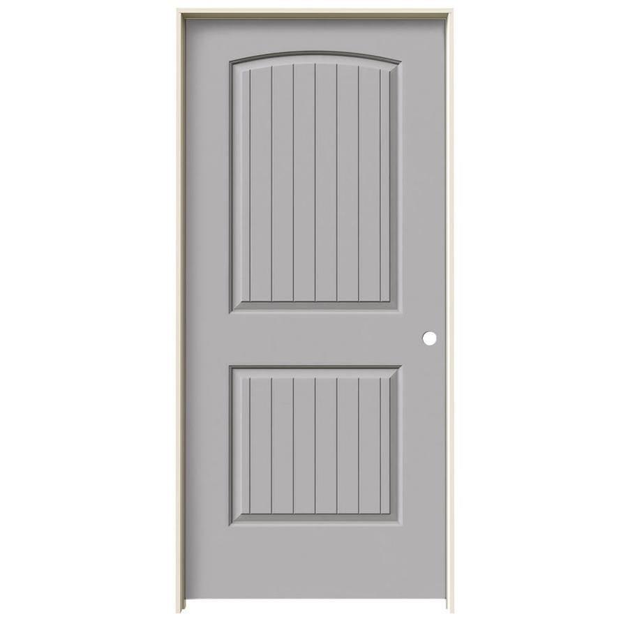 JELD-WEN Santa Fe Drift Solid Core Molded Composite Single Prehung Interior Door (Common: 36-in x 80-in; Actual: 37.562-in x 81.688-in)