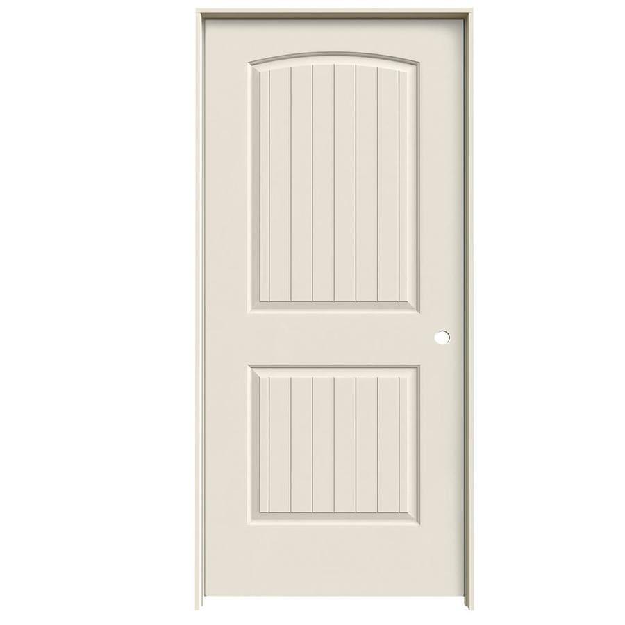 JELD-WEN Santa Fe Single Prehung Interior Door (Common: 36-in x 80-in; Actual: 37.5620-in x 81.6880-in)