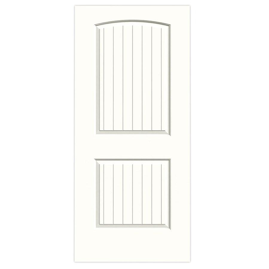 JELD-WEN Santa Fe Snow Storm Slab Interior Door (Common: 36-in x 80-in; Actual: 36-in x 80-in)