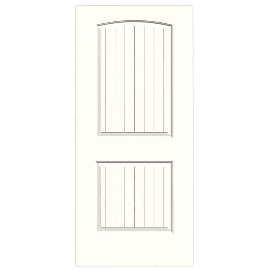 JELD-WEN Santa Fe Snow Storm Slab Interior Door (Common: 36-in x 80-in; Actual: 36-in x 80-in)
