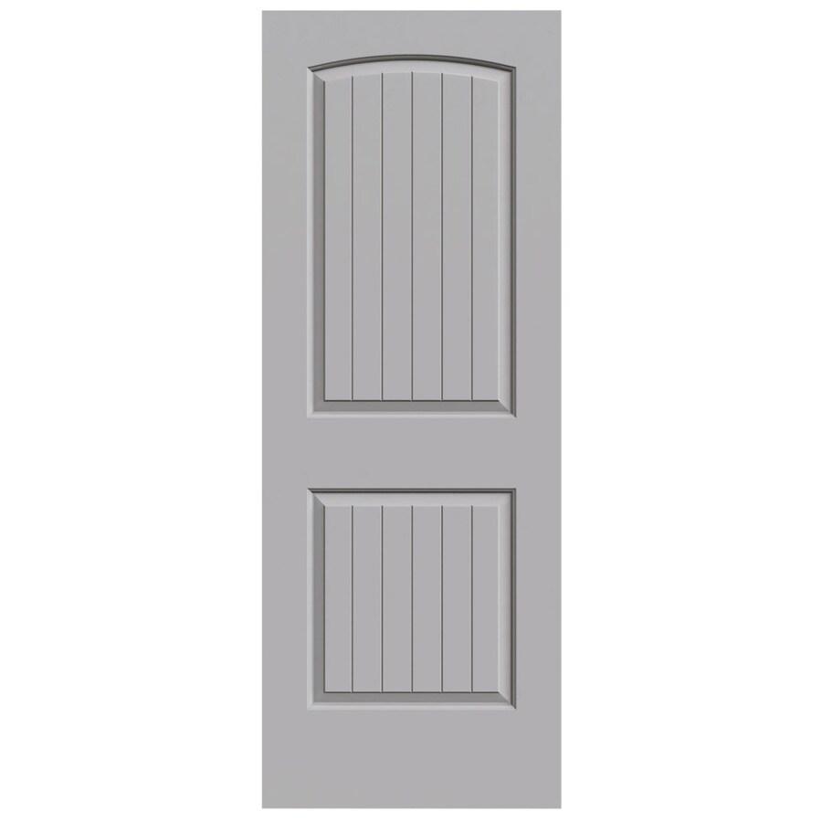 JELD-WEN Santa Fe Driftwood Slab Interior Door (Common: 28-in x 80-in; Actual: 28-in x 80-in)