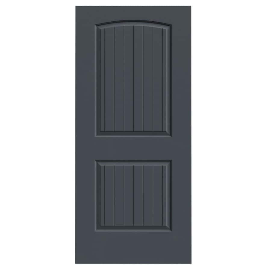 Shop Jeld Wen Santa Fe Slate Solid Core Molded Composite Slab Interior Door Common 36 In X 80