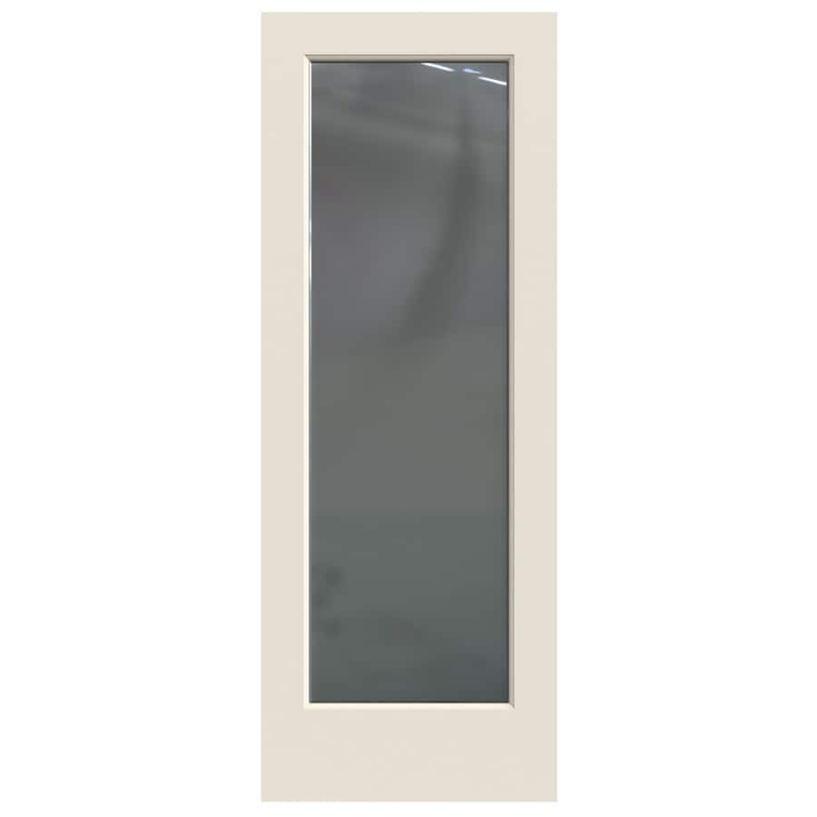 Glass interior doors lowes - Jeld Wen Colonist Hollow Core 1 Panel Square Mirror Slab Interior Door Common