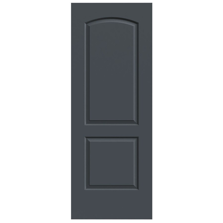 JELD-WEN Continental Slate Slab Interior Door (Common: 24-in x 80-in; Actual: 24-in x 80-in)