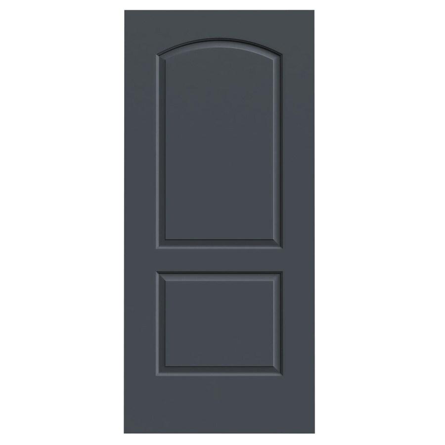 JELD-WEN Continental Slate Hollow Core Molded Composite Slab Interior Door (Common: 36-in x 80-in; Actual: 36-in x 80-in)