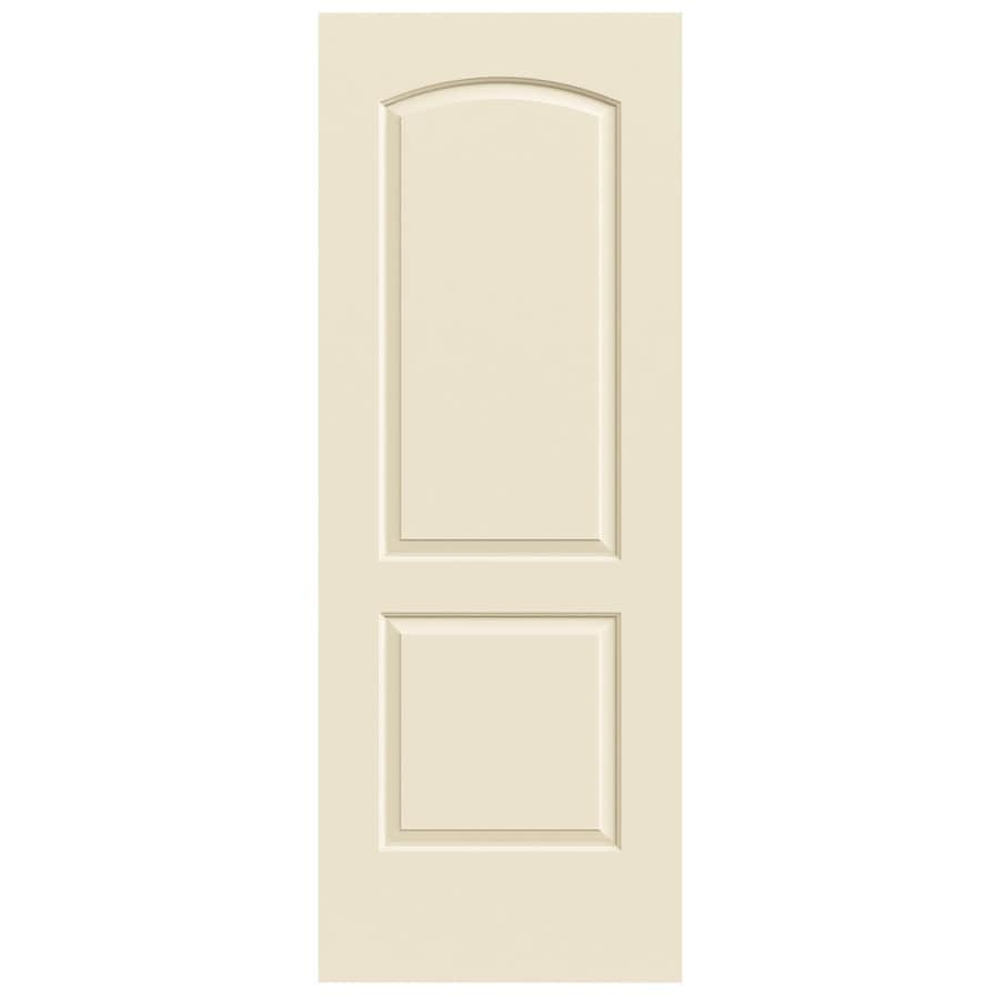 JELD-WEN Continental Cream-N-Sugar Slab Interior Door (Common: 24-in x 80-in; Actual: 24-in x 80-in)