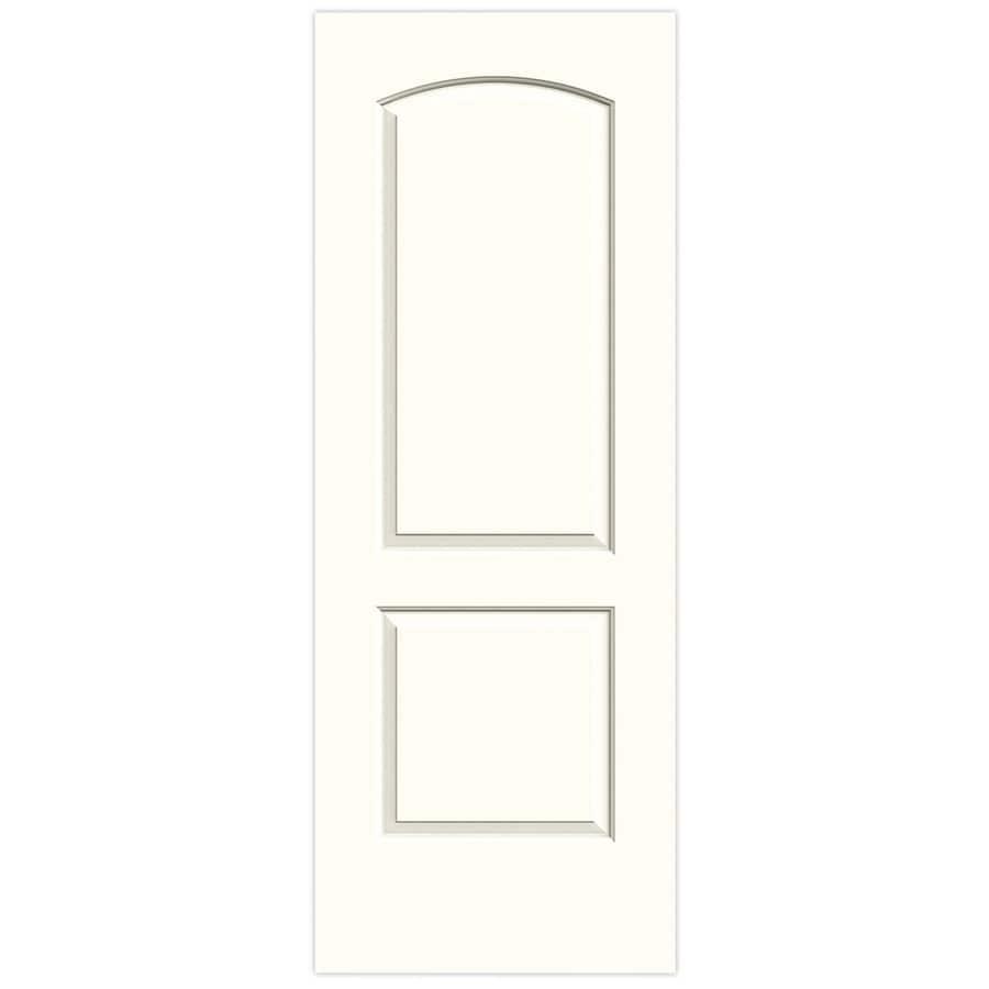 JELD-WEN Moonglow Hollow Core 2-Panel Round Top Slab Interior Door (Common: 28-in x 80-in; Actual: 28-in x 80-in)