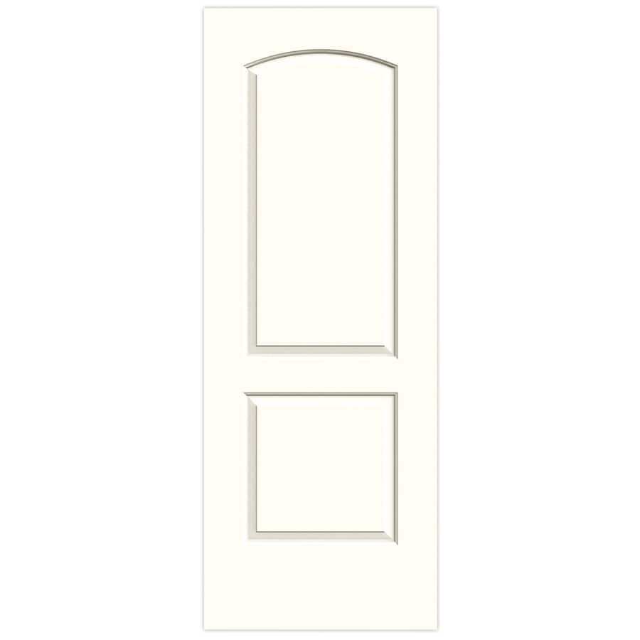 JELD-WEN Moonglow Hollow Core 2-Panel Round Top Slab Interior Door (Common: 32-in x 80-in; Actual: 32-in x 80-in)