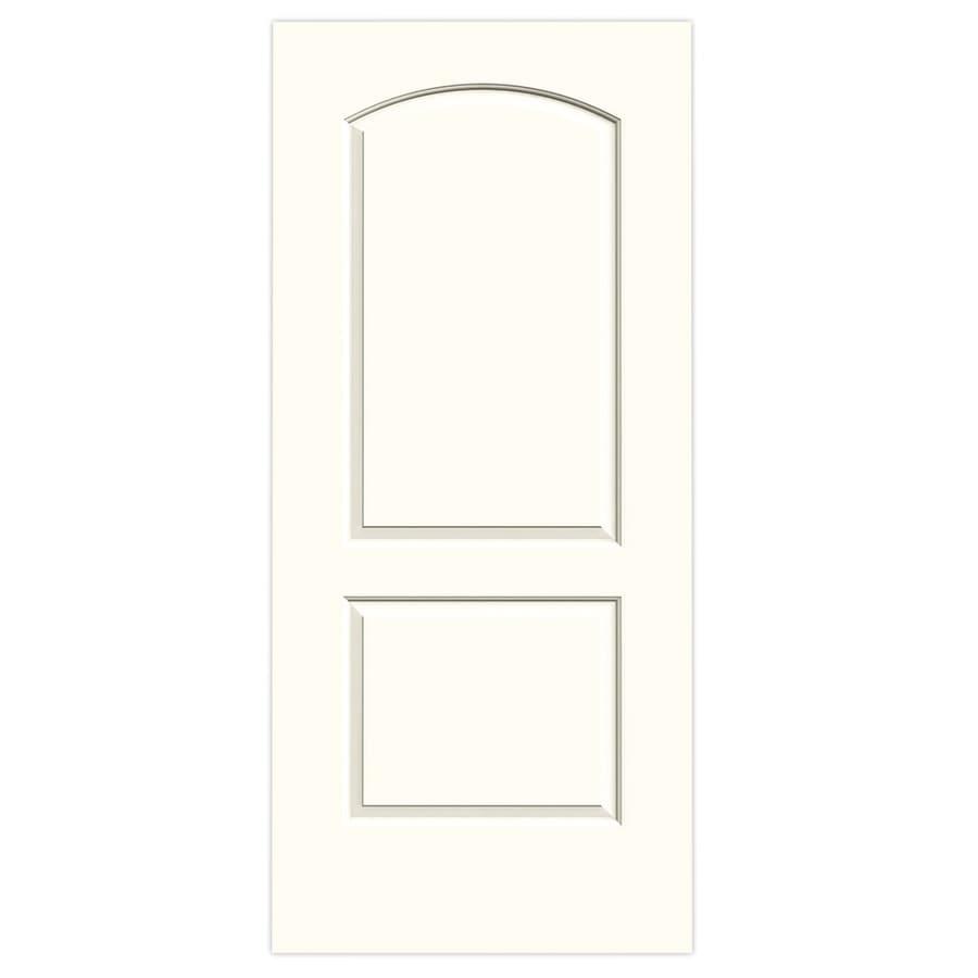 JELD-WEN Moonglow Hollow Core 2-Panel Round Top Slab Interior Door (Common: 36-in x 80-in; Actual: 36-in x 80-in)